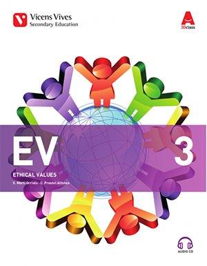EV 3+CD (ETHICAL VALUES 3D CLASS)