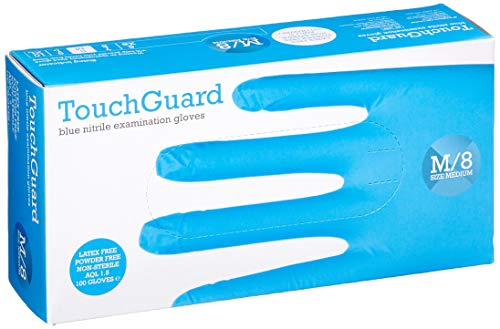 guanti lattice blu TouchGuard