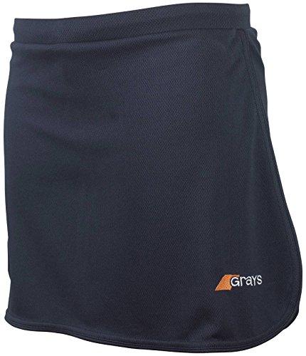 Grays Frauen G600 Hockey Skort - 5 Farben / UK Größen 6-16 Navy