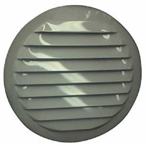 Maurice Franklin Louver breitstrahlendes Aluminiumraster Bildschirm 4in WHT RND Alaun