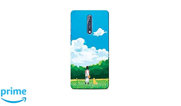 official photos 84b8e d954b Print Station NOKIA8-5642 Me and My Dog Printed Back: Amazon.in ...
