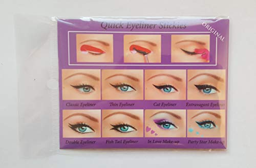 Quick Make-up Eyeliner Stickies COMPLETE SET, 80 Stück -