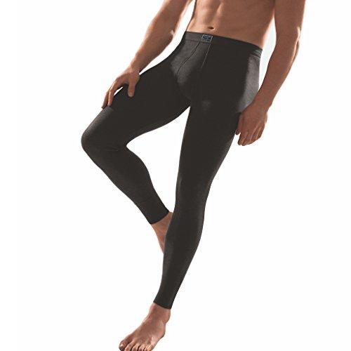 ESGE - Jeans - Herren Unterhose lang mit Eingriff (6, Schwarz)
