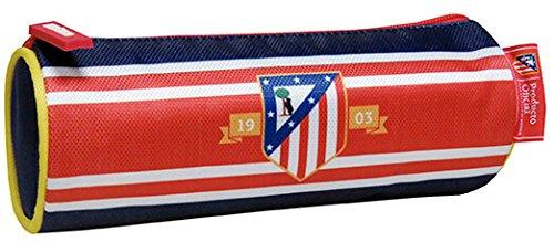 Atletico De Madrid – Estuche portatodo cilíndrico bordado (CYP Imports PT-225-ATL)
