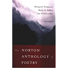 The Norton Anthology of Poetry 5e