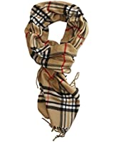 Classic Cashmere Feel Winter Scarf in Rich Plaids