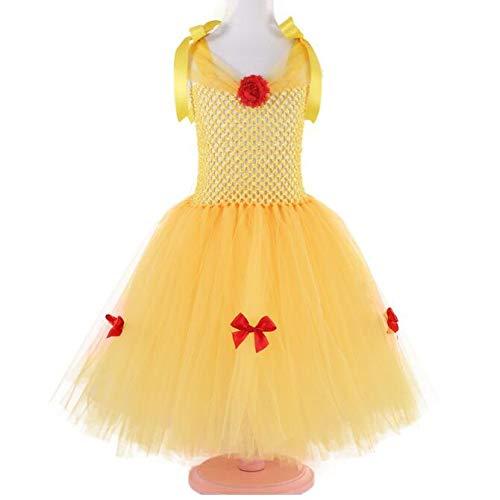 Kostüm handgefertigt Tutu Dress Up, gelb ()