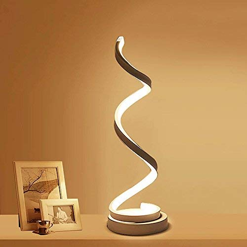ELINKUME Spiral LED Table Lamp, ...