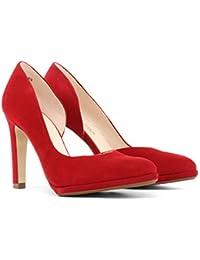 a9379bea0d8d5c Suchergebnis auf Amazon.de für  ziegenleder - Rot   Schuhe  Schuhe ...