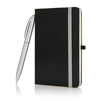 XD Design P773.591 - Libreta A6 con bolígrafo, color negro
