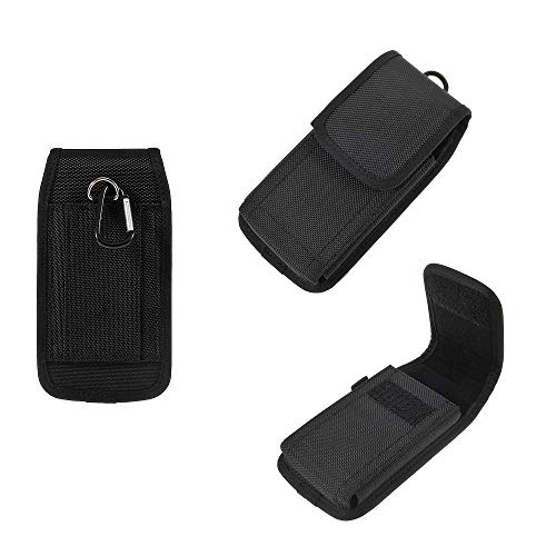 DFVmobile - Belt Case Cover Business Nylon für => T-Mobile MYTOUCH 3G Slide > Black T-mobile Mytouch 3g-design