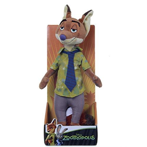 "Posh Paws Zootropolis 10"" Disney Nick Wilde Soft Toy"