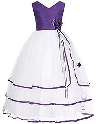 Grace Karin® Maedchen Prinzessin Kleid Blumenmaedchenkleid