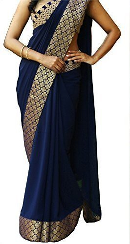 Saree(Ruchika Fashion Saree For Women Party Wear Half Multi Colour Printed Sarees...