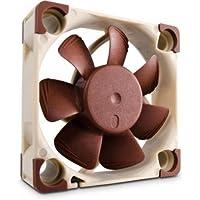 Noctua NF-A4X10 FLX - Ventilador para caja de ordenador (diámetro del ventilador: 40 mm, 3700 rpm, 0.6 W, 0.05 A), marrón