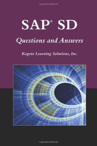 SAP?? SD Questions And Answers (SAP Books) by Inc., Kogent Learning Solutions (2009-09-29)