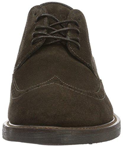 Marc O'Polo Herren 61022063401300 Lace Up Shoe Brogue Schnürhalbschuhe Braun (brown 765)