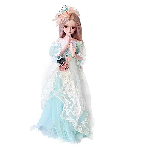 Pädagogische Puppen Spielzeug, 12shage BJD Doll SD Doll 60cm/24inch handgemacht Prinzessin Braut Puppen für Mädchen Geschenk- und Puppenkollektion (Erwachsene Baby Doll-schuhe Für)
