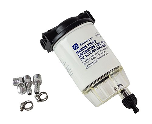 Sacs Marine Filter Wasserabscheider Kraftstoff Benzin C14573P Kompatibel Mercury 35-809097 - S3213