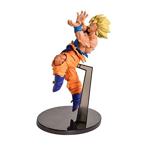 BANPRESTO 604717Scultures Dragon Ball Z, bwfc- Goku SS Kameha Action Figur, 16cm Preisvergleich