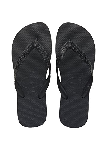 Havaianas Unisex Adult's Flip Flops, Black (8 UK)
