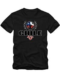 Shirt Happenz Fútbol Chile V2 Camiseta | Hombre | Fútbol | La Roja | Jersey |