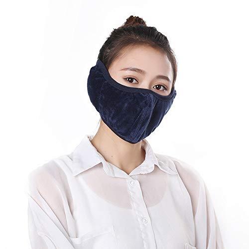 OMIGAI Mundmaske, Anti-Staub, Wind, Baumwolle, warme Mund-Masken, Unisex für Reisen, Outdoor, Radfahren