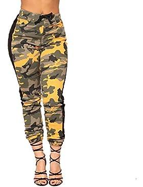 Pantalones Cintura Alta para Mujer Otoño Invierno 2018 Moda PAOLIAN Casual Pantalones Leggings Deportivos Vestir...