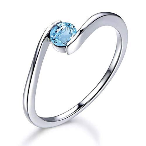 8bfeaf5d4e98 SonMo Ring Anillos Oro y Diamantes Anillo de Gato Plata de Ley Anillos  Compromiso Oro Amarillo