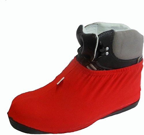 Preisvergleich Produktbild roomclean Überziehschuhe Größe 43-45, rot, L07.500.003