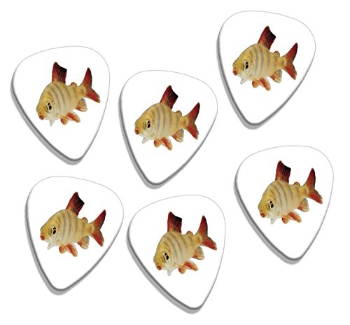 goldfish-fish-6-x-logo-guitare-mediators-picks-gd