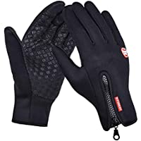 Keersi Winter Gloves Touch Screen Windproof Outdoor Casual Ski Cycling Camping Hiking Thermal Wearproof Full Finger Multifunctional Gloves For Men Women