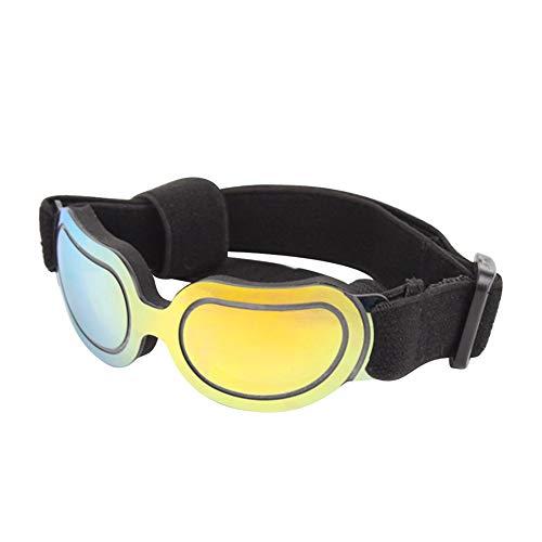 Domire Haustier-Hundebrille Gradient Außen Anti UV windundurchlässige Gläser Small Medium Hund UV-Schutz Hundesonnenbrillen Hundezubehör