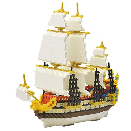LIULAOHAN Jigsaw Puzzle, 3000 Teile aus Kunststoff Große Segelboot Presse Nesting Game Set, pflegen Kinder Interesse Intelligenz