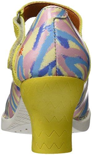 Art 0933f Fantasy Harlem, Escarpins Bout Fermé Femme Multicolore (Arlekin 2)