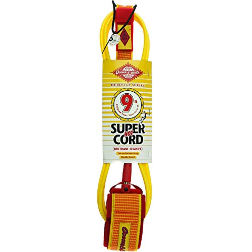 ocean-and-earth-9ft-heritage-regular-leash-surfboard-leg-rope-9ft-yellow