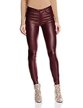 Vero Moda Vmseven NW SS Smooth Coatclr Pant Noos, Pantalones para Mujer