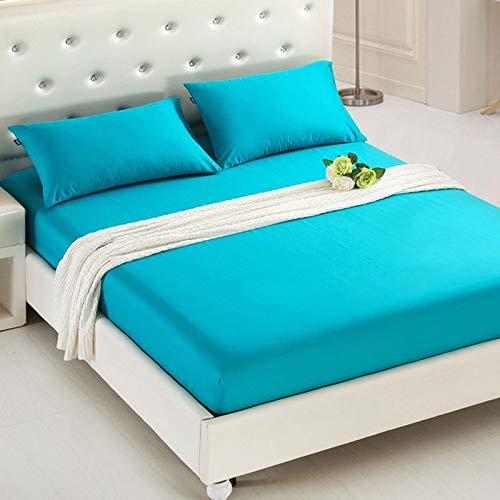 CYYCY Druck Bett Matratzenbezug wasserdicht Matratzenschoner Pad Spannbetttuch getrennt Wasser Bettwäsche mit elastischen,Einfarbiger Hotel-Matratzenbezug CLOO1-18 90 * 200 + 20cm