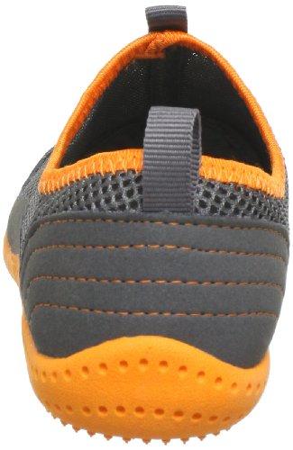 Glagla Typhoon Unisex-Erwachsene Brogue Schnürhalbschuhe Grau (058 charcoal/neon orange)