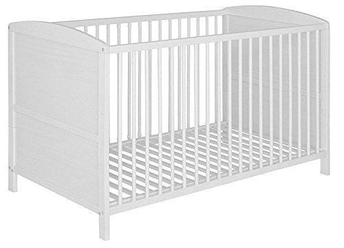 Best For Kids Gitterbett 2 in 1 Patrick 70x140 cm Juniorbett Kinderbett Babyb...