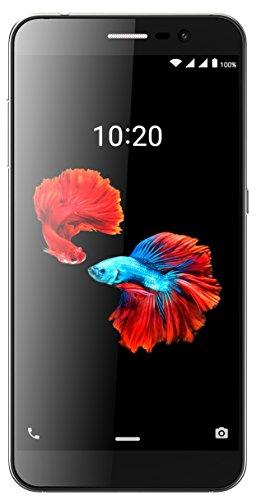 ZTE Blade A910 Smartphone (13,97 cm (5,5 Zoll) Display, 16 GB Speicher, Android 6.0) Grau