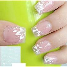 Arte de uñas: Calcomanías y autoadherentes Calcomanía Transferible con Agua Y003 Pegatina Tatuaje para Uñas Nail Sticker - FashionLife