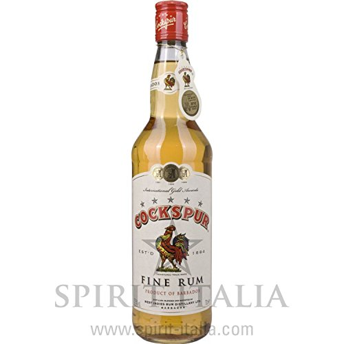 Cockspur Barbados 5 Star Fine Golden Rum 37,50 % 0.7 l.