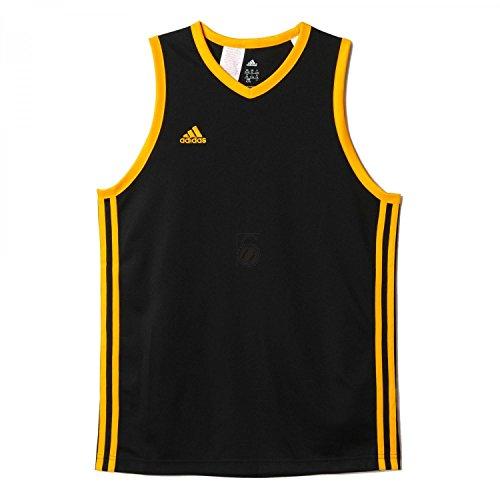 adidas Jungen T-shirt Y COMMANDER J, Schwarz/Gelb, 152, 4054709812101