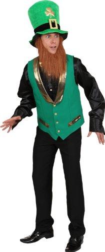 St. Patricks Weste zum Herren Kostüm Karneval Fasching (St Tag Weste Patricks)