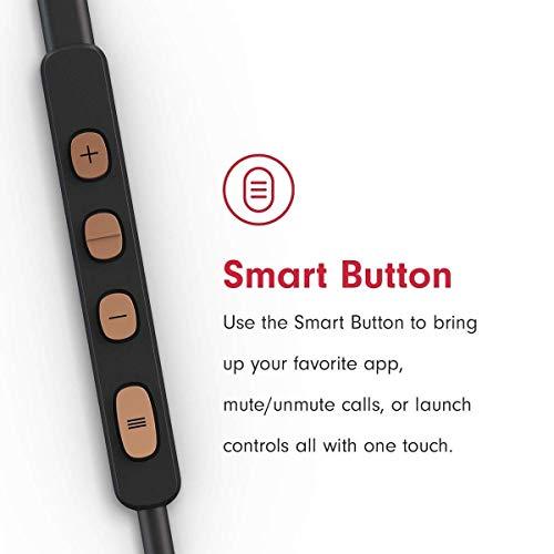 Pioneer SE-LTC5R-T Smarter Lighting-Kopfhörer mit Freisprech und Ladefunktion, Noise Cancelling und niedriegem Stromverbrauch, Auto Pause, Smart Button kupfer - 5