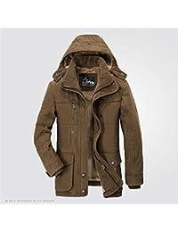 QIN-ER- Men s outerwear Giacca Invernale da Uomo 5XL 6XL Caldo Cappotto di  Grandi 4da3c71df42