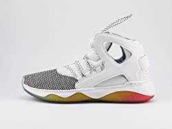 Nike Men's Air Flight Huarache Ultra Whitepure Platinumwhite Basketball Shoe 10 Men Us