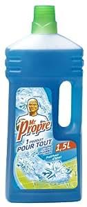 Mr Propre - 81165580 - Nettoyant Ménager Multi-Usages - Fraîcheur d'Hiver - 1,5 L - lot de 2