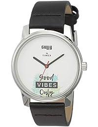 Gully by Timex Talk Analog White Dial Men's Watch-TW000V811
